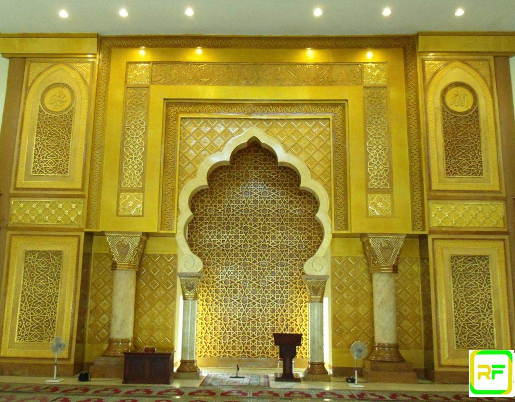 Mihrab Masjid Kayu Jati Mewah, Mihrab masjid Murah Terbaru, Mihrab masjid nawabawi, masjidil haram, masjidil aqsa,