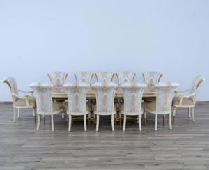 Model Meja Makan Terbaru Warna Putih Raja Furniture