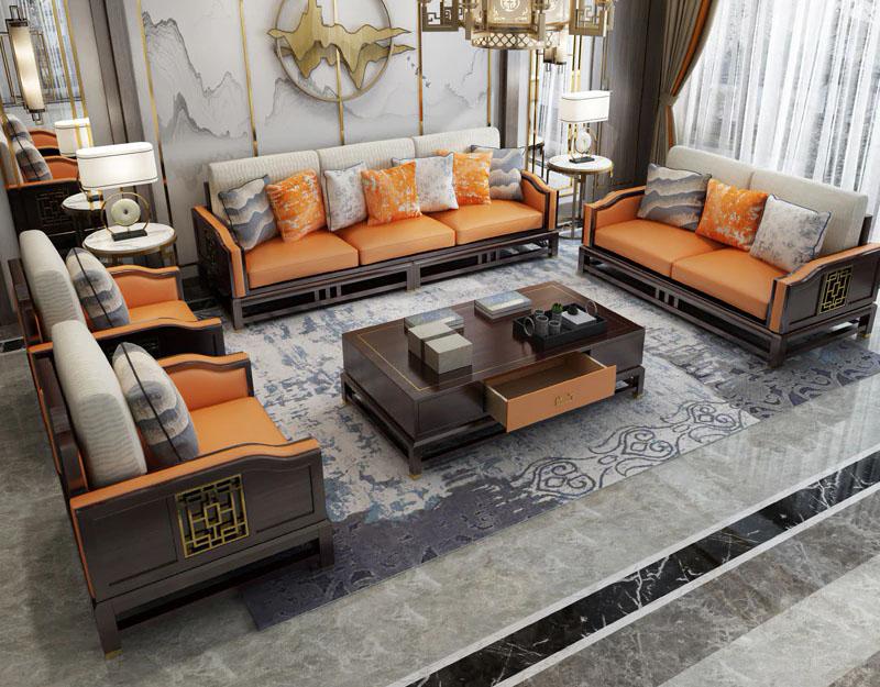 Sofa Minimalis Kayu Jati Harga Murah Desain Modern Raja Furniture