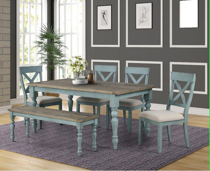 Meja Makan Kayu Natural Minimalis Terbaru Raja Furniture