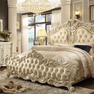 Jual Kamar Set Ukiran Jepara Warna Putih 2020, Set Kamar Tidur, Set Kamar Tidur Mewah, harga set kamar tidur mewah jepara, Jual Set Kamar Tidur Mewah, set kamat tidur mewah