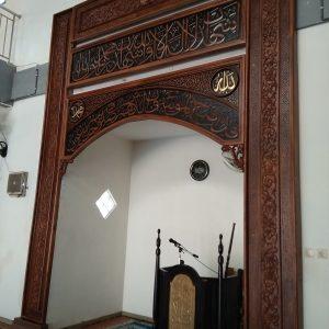 Mihrab masjid kaligrafi minimalis, Mihrab masjid kaligrafi minimalis MODERN, Mihrab masjid kaligrafi minimalis JATI, JUAL Mihrab masjid kaligrafi minimalis