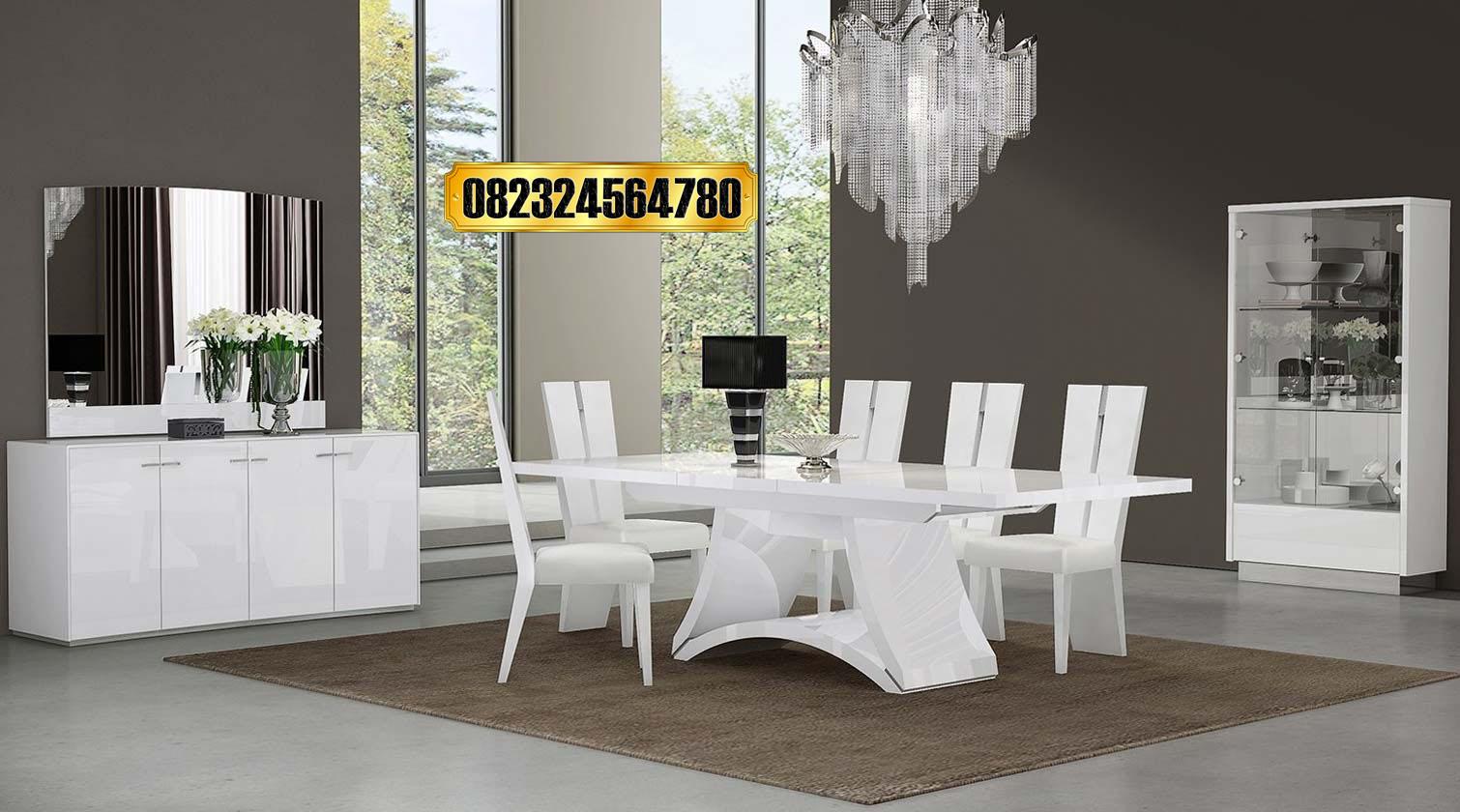 Meja Makan Minimalis Modern Terbaru Mewah Raja Furniture
