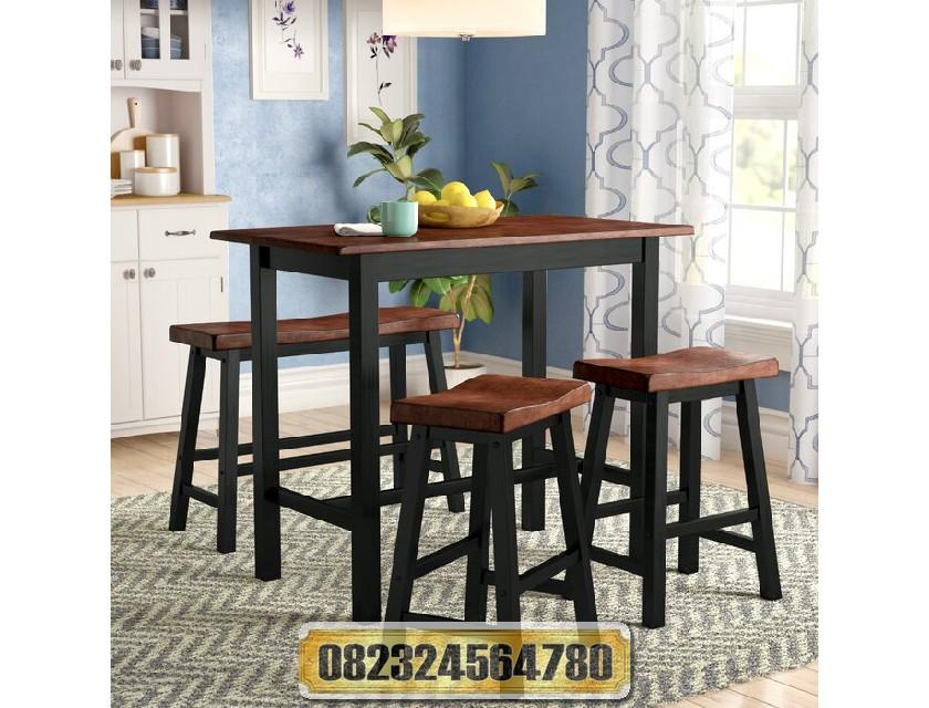 Jual Meja Makan Bar Minimalis Murah Raja Furniture
