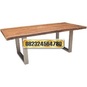 meja minimalis, meja minimalis kayu, meja minimalis trembesi