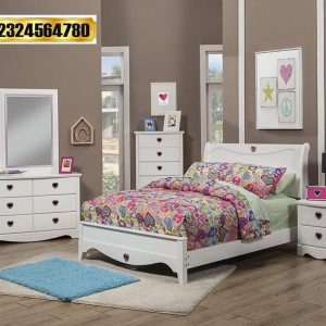 1 Set Tempat Tidur Anak Perempuan
