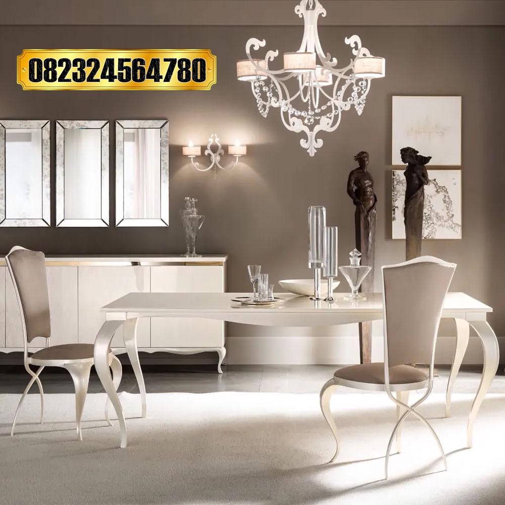 Set Meja Makan Modern Minimalis Harga Murah Raja Furniture