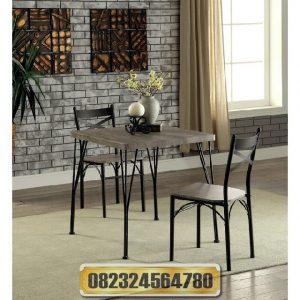meja makan minimalis romantis, jual meja minimalis, meja cafe, meja makan malam