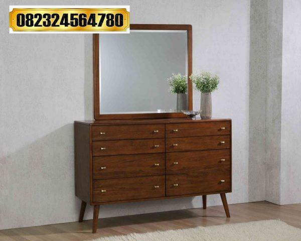 Dresser Mirror Retro Minimalis