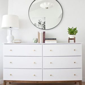 Dresser Minimalis 6 Laci