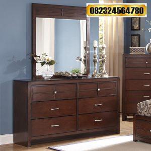 Dresser Mirror Jati Minimalis