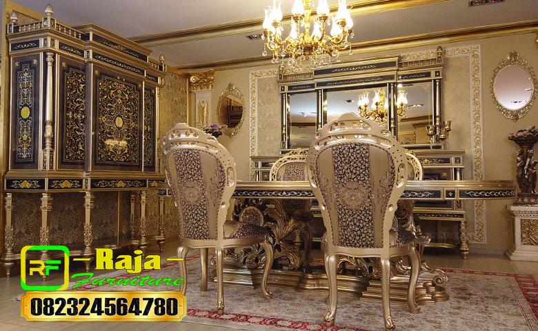 Jual Meja Makan Ukiran Jepara Model Klasik Mewah 2021 Raja Furniture